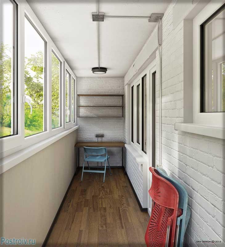 Дизайн однокомнатной квартиры в стиле лофт. все как полагает.