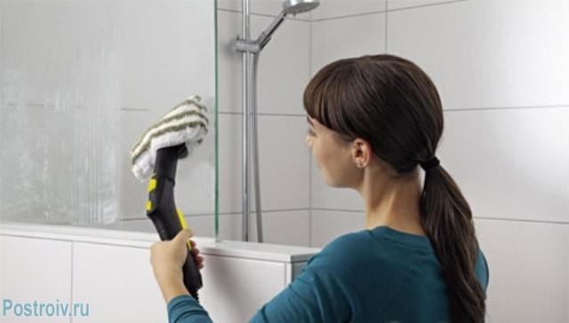 Необходимо тщательно обрабатывать стенки душевой для избавления от грибка - Фото 07