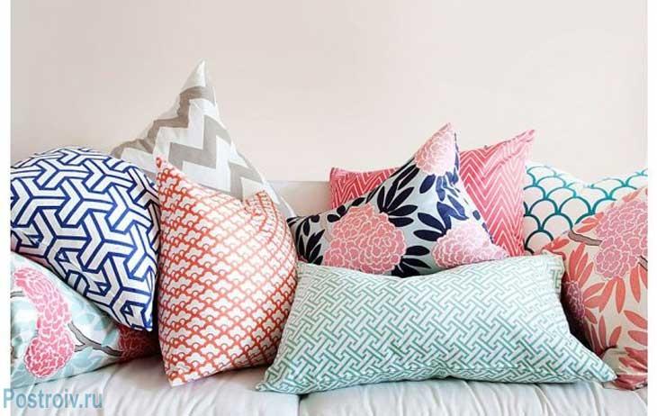 Модные цветовые акценты в текстиле 2015. Фото
