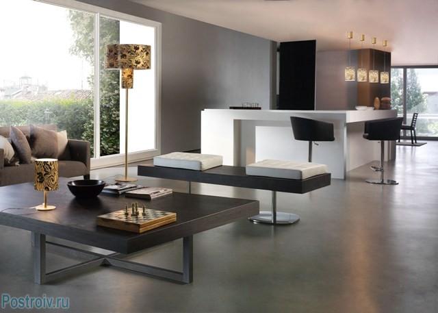 Дизайн интерьера в стиле минимализм - Фото 05