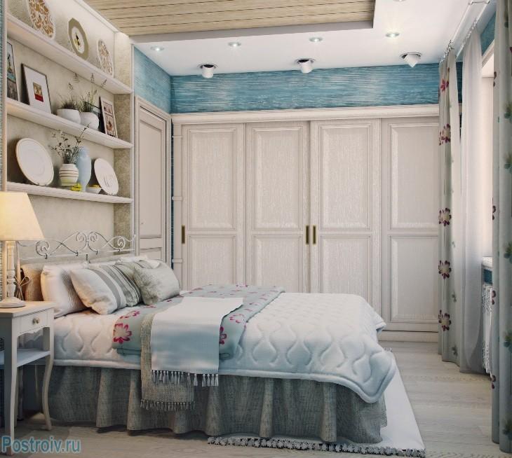 Прованс в спальне - Фото 01