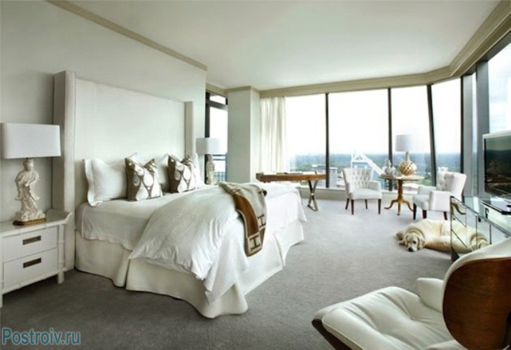 Белая спальня - Фото