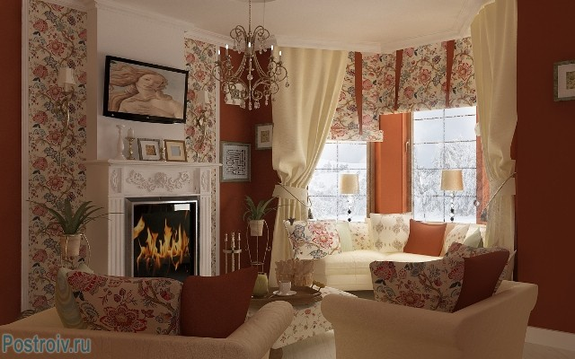 Гостиная в стиле прованс - Фото 10