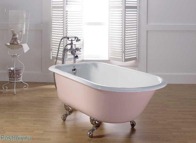 Чугунная ванна - Фото 02