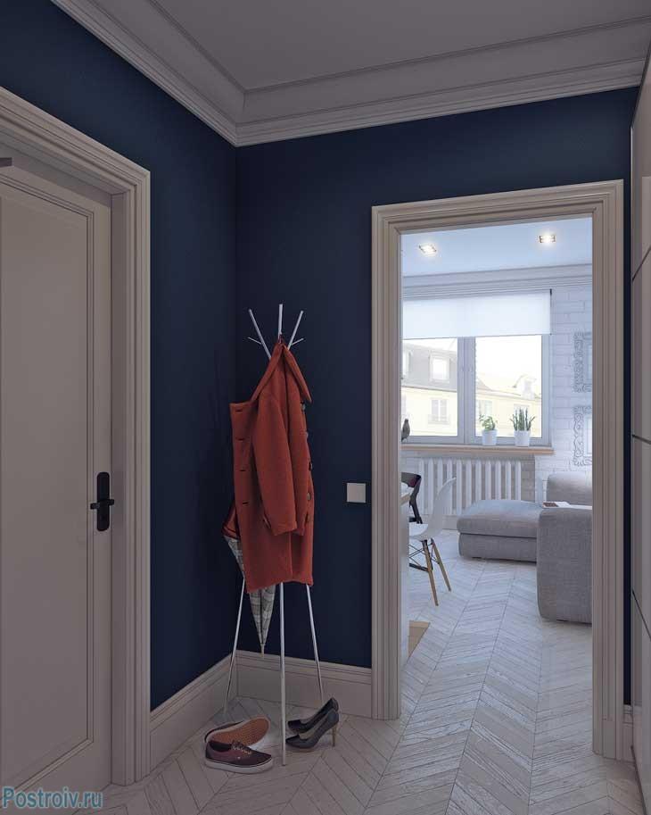 Дизайн прихожей в квартире 25 кв. м. Фото