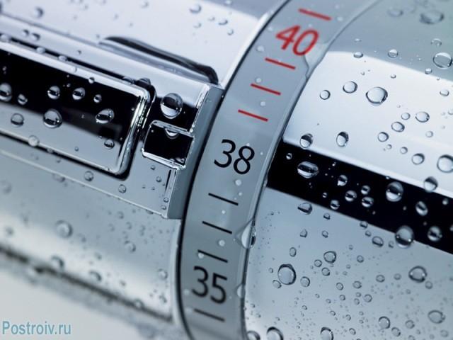 Смеситель с термостатом для ванной комнаты - Фото 05