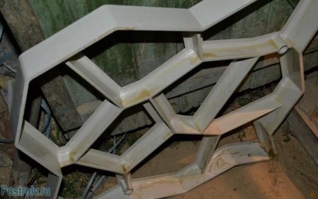 Форма для изготовления садовых дорожек своими руками фото 696