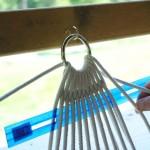 Плетение строп возле металлического кольца - Фото 58