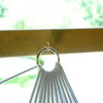 Плетение строп возле металлического кольца - Фото 57