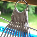Плетение строп возле металлического кольца - Фото 59