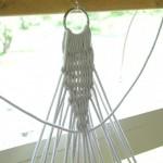 Плетение строп возле металлического кольца - Фото 60