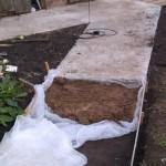 Устройство песчанной подушки
