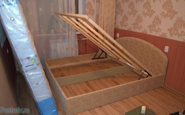 Как уменьшить кровать своими руками
