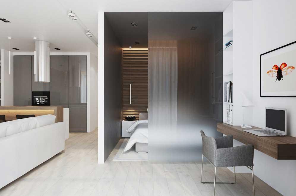 Интерьер однокомнатной квартиры 50 кв м фото