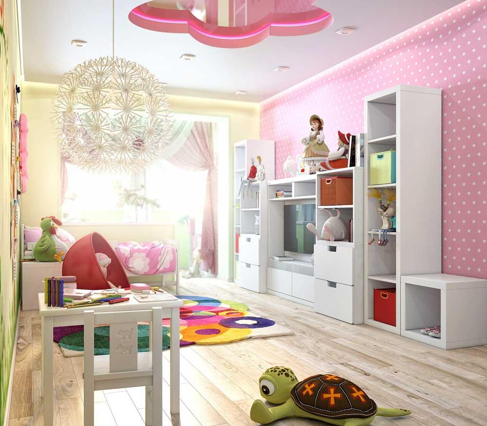Дизайн для девочки 7 лет