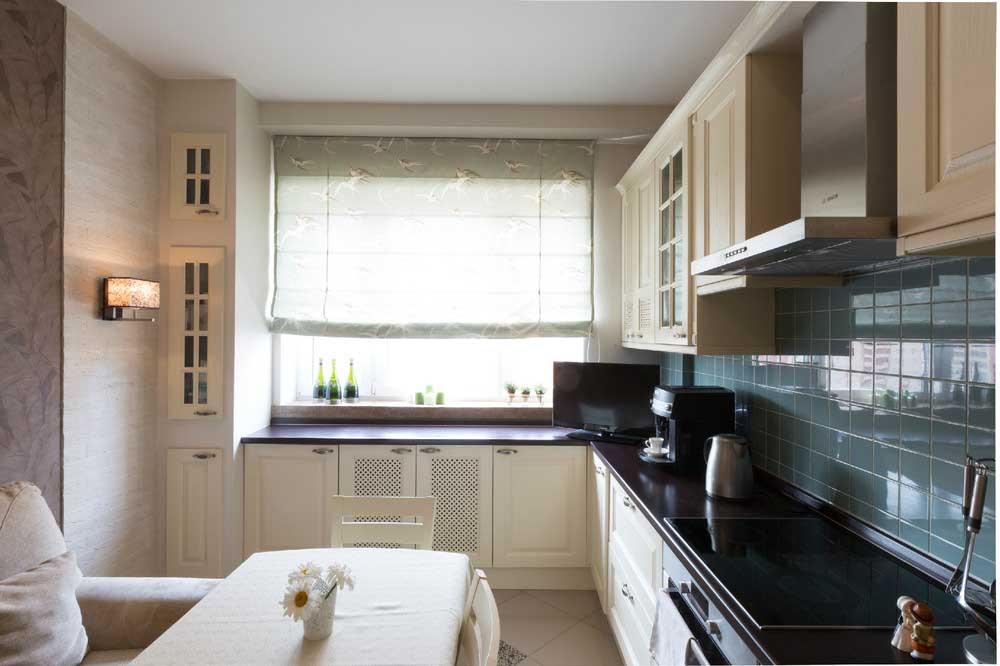Дизайн кухни с балконом 12 кв.м фото