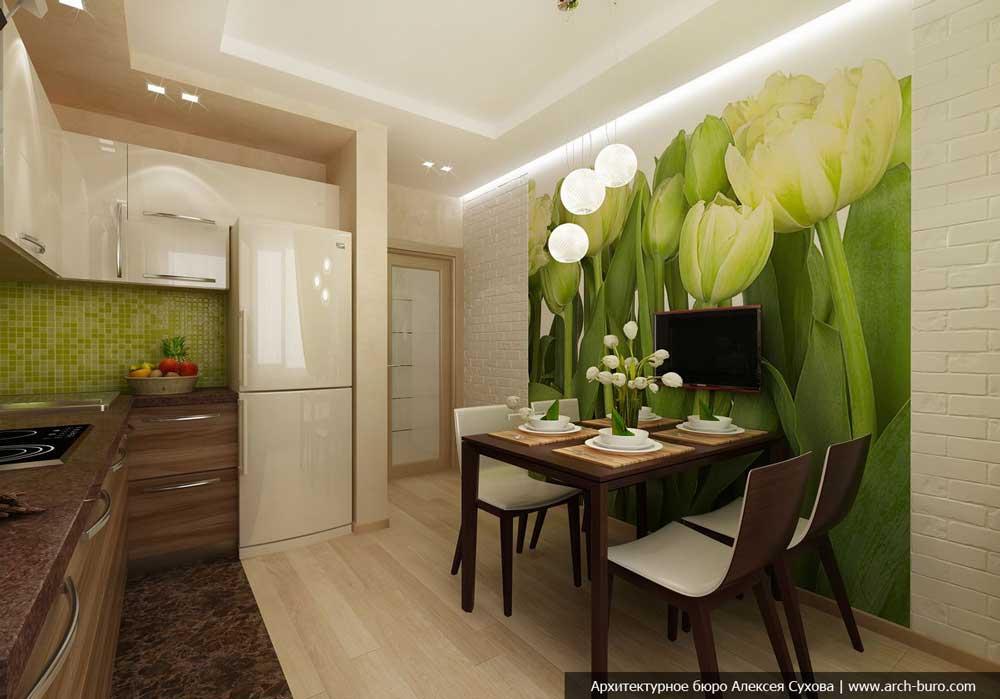 Дизайны кухни 12 кв м