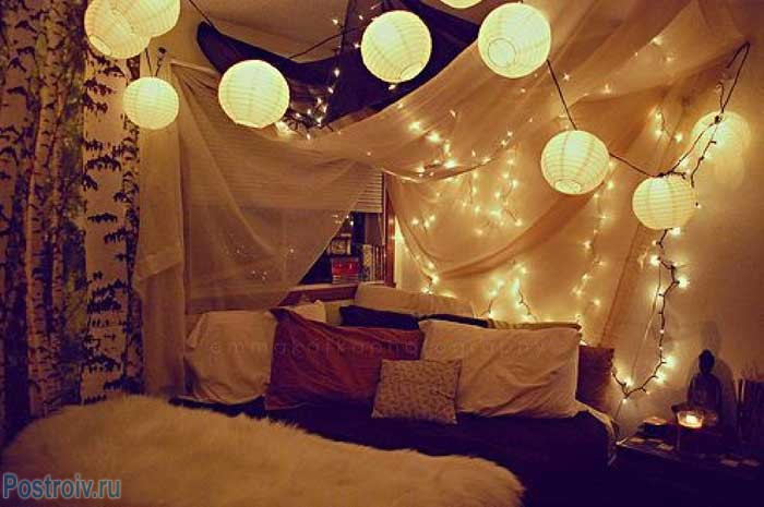 Bedroom-decorating-ideas-for-christmas-lights8