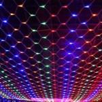 Светодиодная сетка. Фото