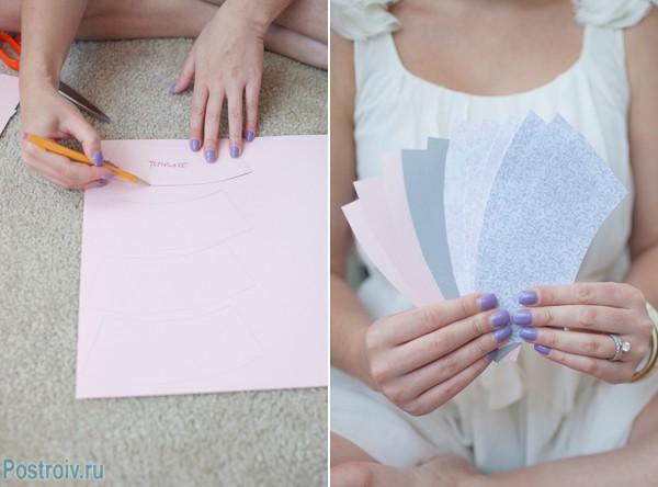 Как сделать гирлянду. Фото 2