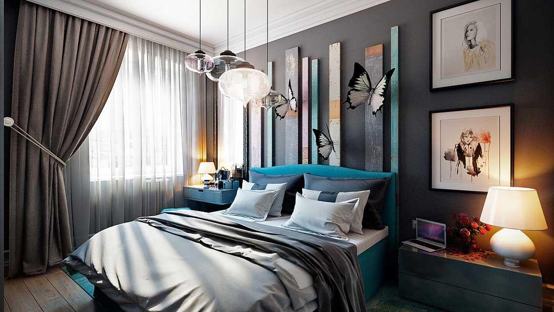 Дизайн спальни фото 2016 современные идеи 16 кв.м