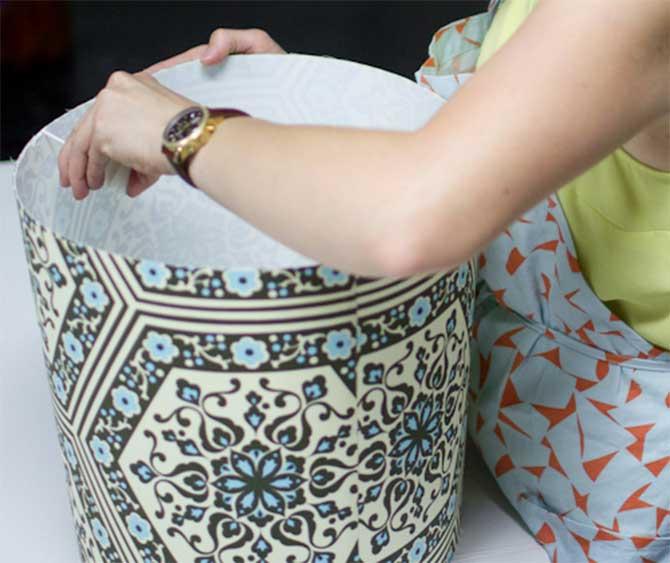 Из чего изготовить каркас абажура своими руками 21