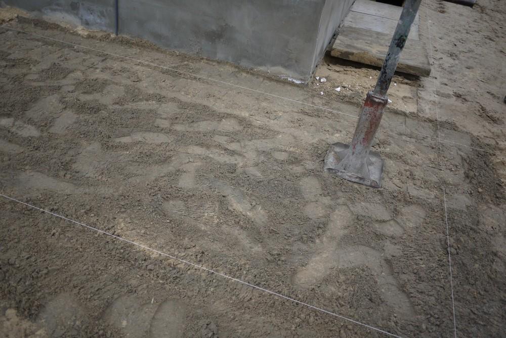 Укладка тротуарной плитки своими руками фото на песок 52