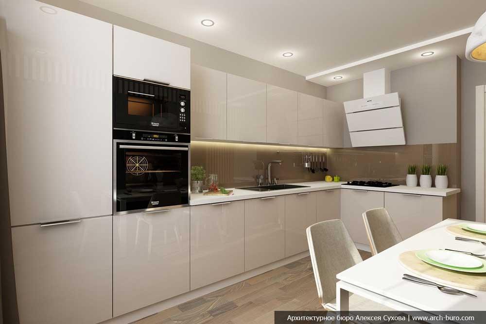 Дизайн кухни 10 кв м фото новинки