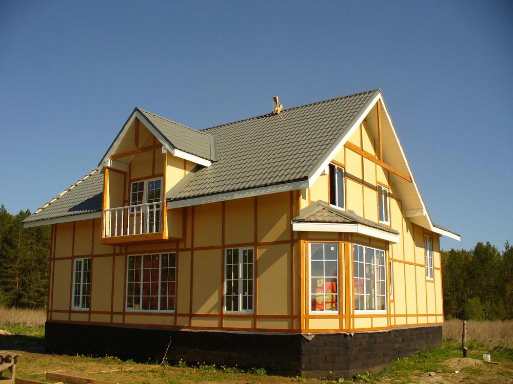 Проекты домов с третьим, мансардным этажом Дома с