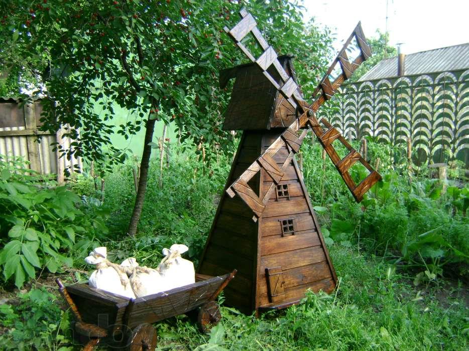 Как сделать мельницу в огород 43