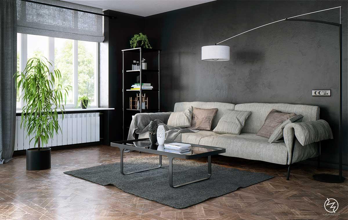 chic-black-interior-theme