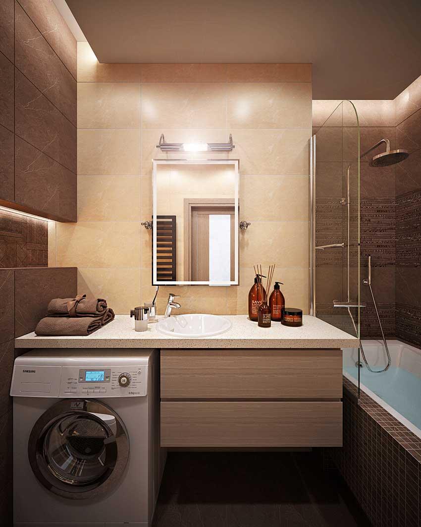Дизайн ванной 4 кв метра