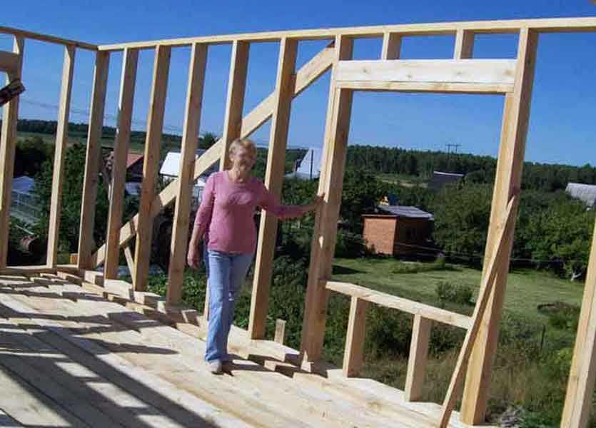 Стройка каркасных домов своими руками 26