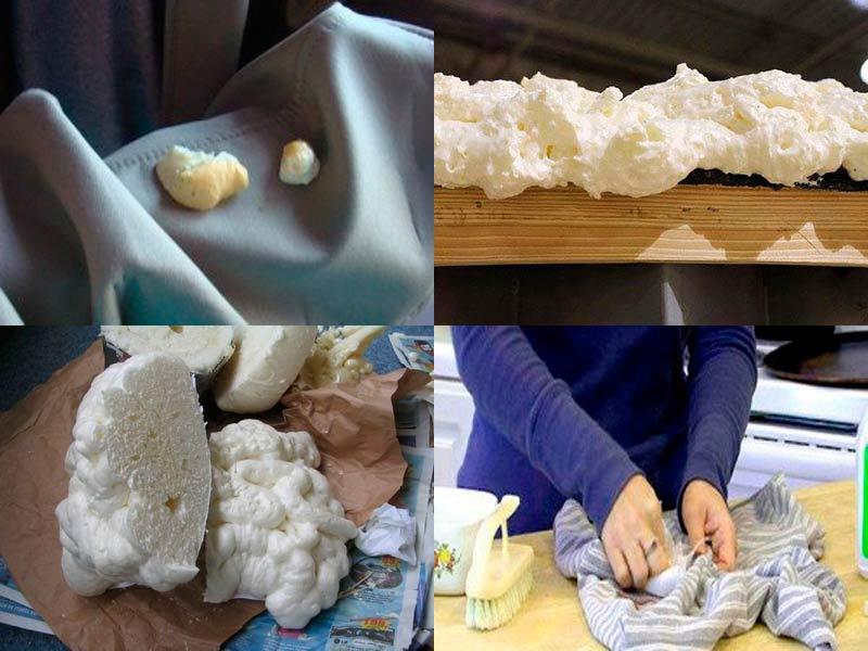 Чем смыть руки от монтажной пены в домашних условиях 353