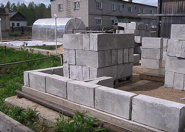 Строим дом из газобетона своими руками поэтапный показ строительства видео 177