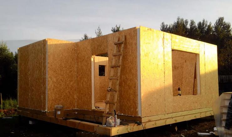 Своими руками построить дом из сип панелей