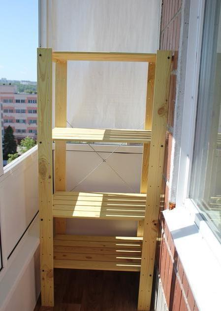 Места для хранения на балконе своими руками.