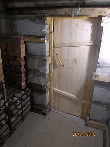 Баня из пеноблоков своими руками отделка 79