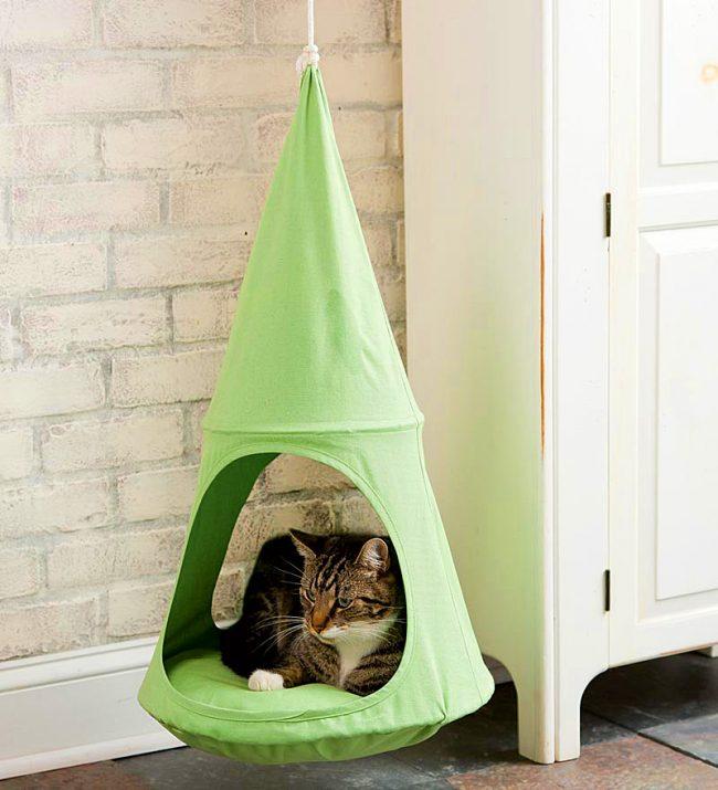 Домик для кошки своими руками пошаговая инструкция с фото