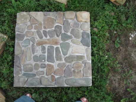 Тротуарная плитка своими руками фото как во дворе