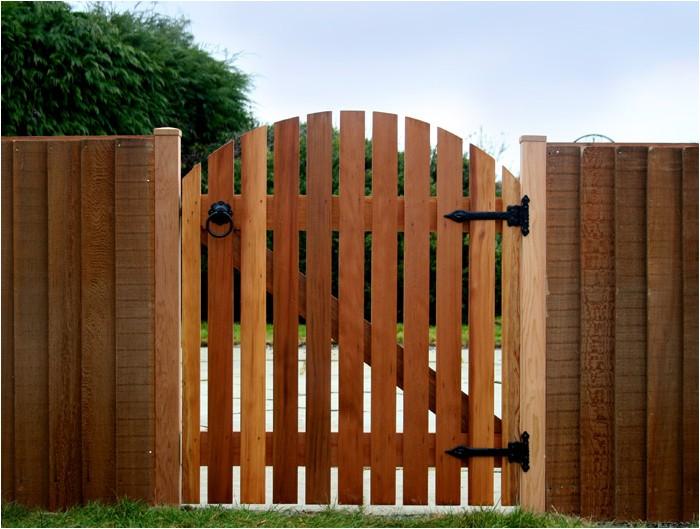 Деревянные калитки и ворота своими руками