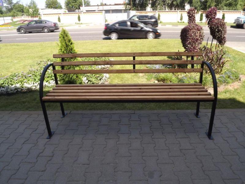 Садовая скамейка своими руками из металла фото чертежи