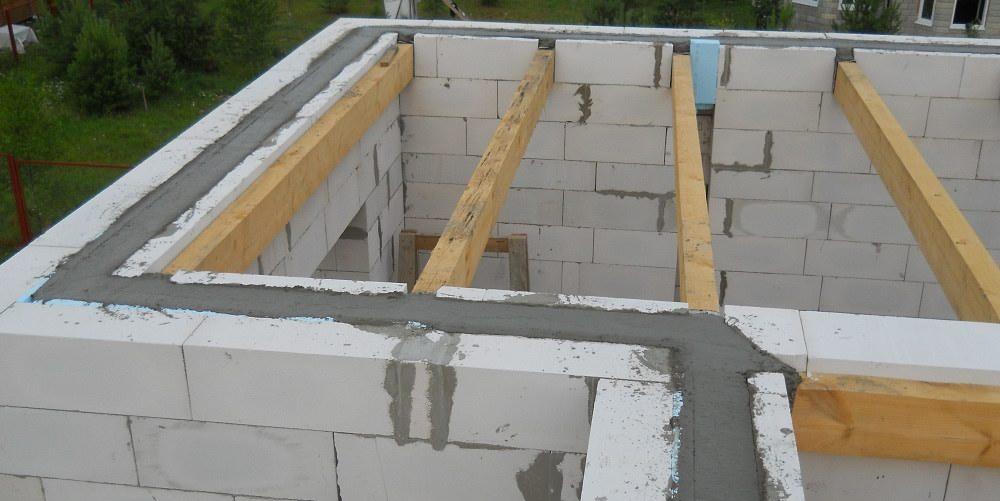 Строительство дома из газобетона своими руками - инструкция .