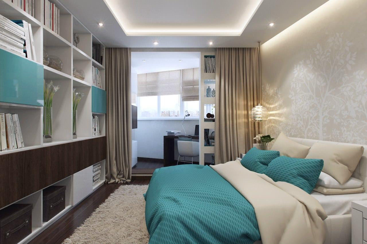 Интерьер современных квартир-студий: 12 проектов, 50 фото