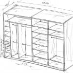 Шкаф купе своими руками. Как самостоятельно сделать встроенный шкаф купе.