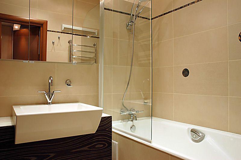 Отделка ванной панелями МДФ фото