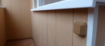 Отделка стен и потолка пластиковыми панелями своими руками.