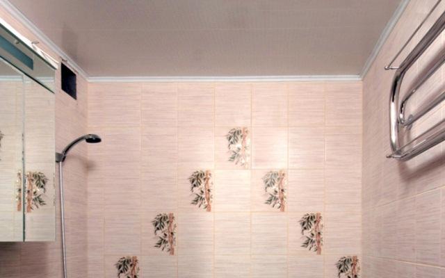 ремонт ванных комнат панелями