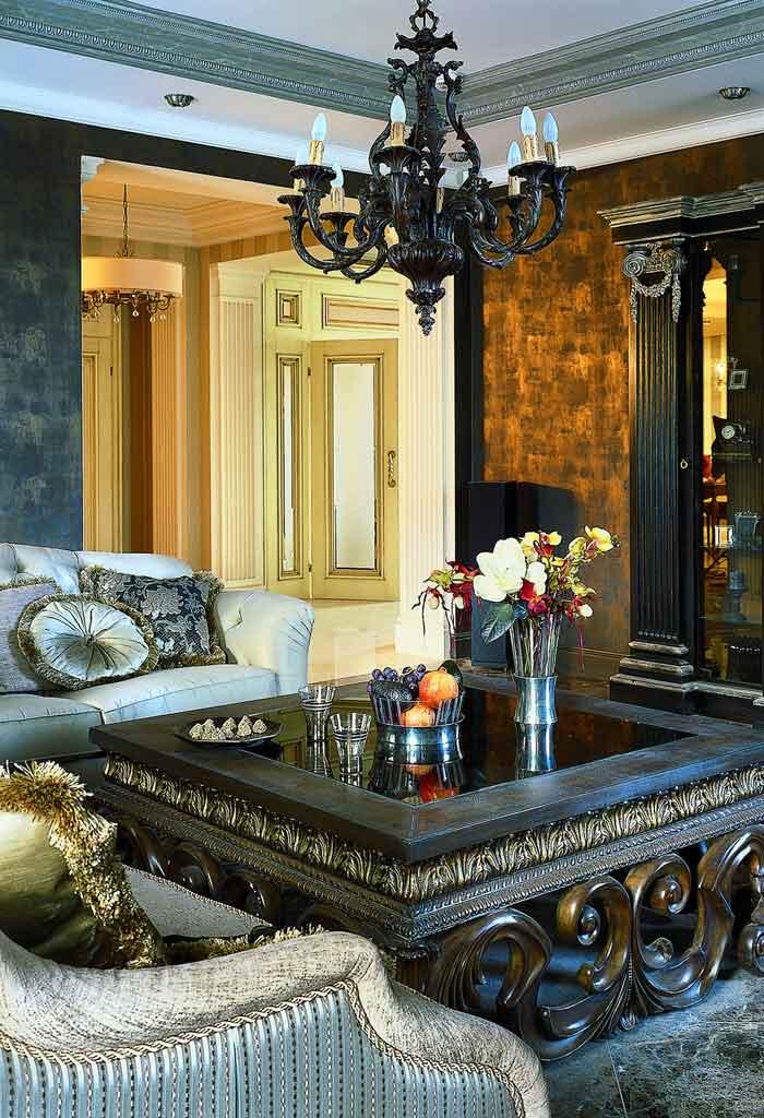 Дизайн гостиной от Mill-Studio