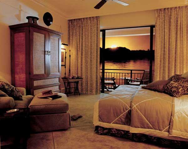Спальня в стиле африка